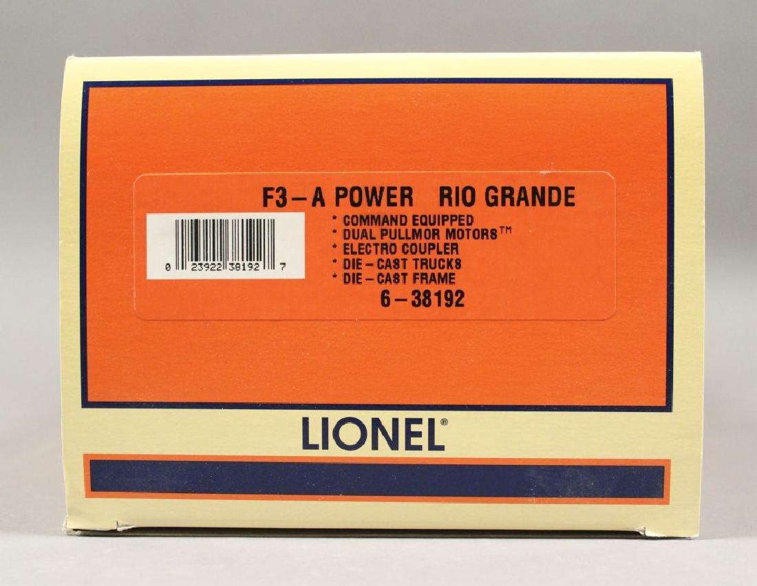 Lionel 6-38192 Rio Grande F - 3A Locomotive - 4
