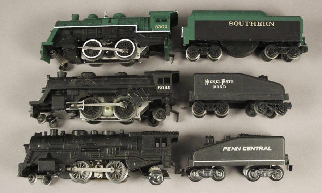 Assorted Lionel Locomotives & Tenders