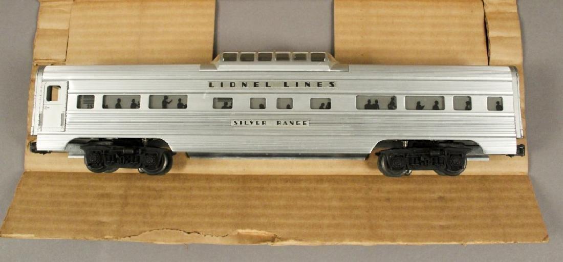 Lionel O Scale No. 2532 Illuminated Astra-Dome Car