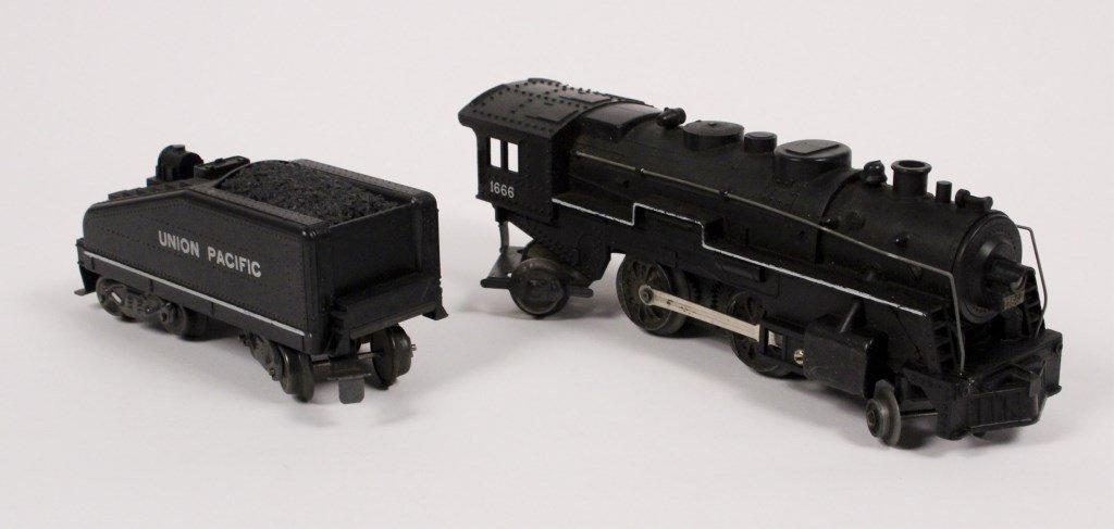 3 Vintage Lionel Locomotives & Tenders - 3