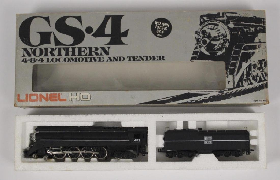 Lionel HO Northern WP 4-8-4 Loco & Tender