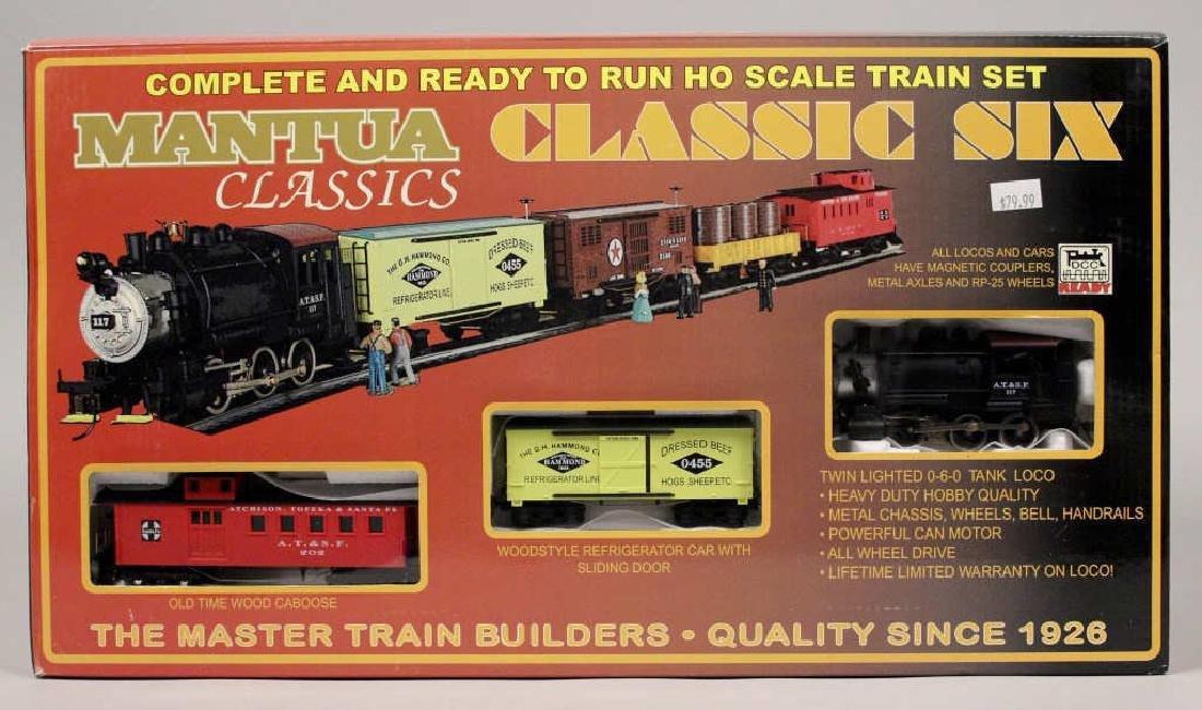 Mantua Classic Six HO Scale Train Set