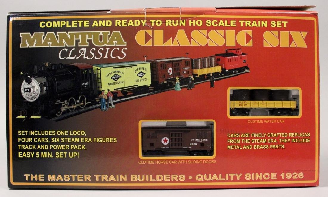 Mantua Classic Six HO Scale Train Set - 6