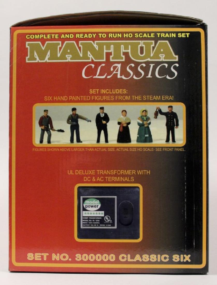 Mantua Classic Six HO Scale Train Set - 9