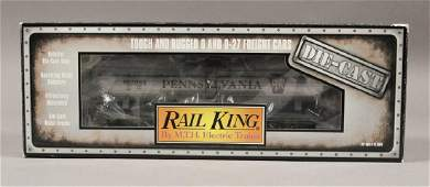 MTH 308103 Rail King Pennsylvania Tank Car