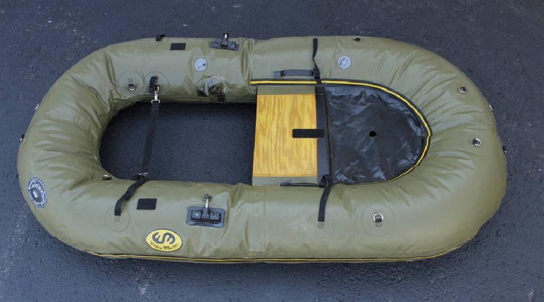 Grizzly Water Master Inflatable Sporting Raft