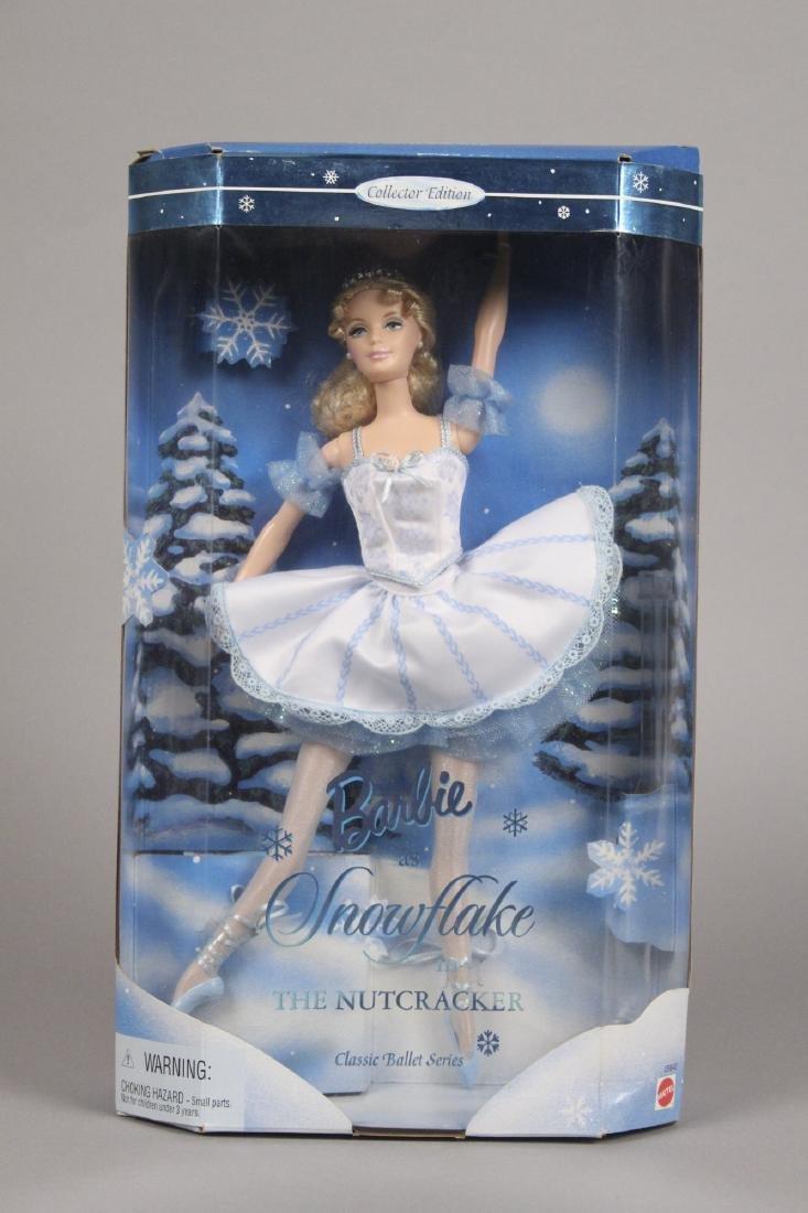 Victorian Ice Skater, Snowflake & Snow Barbie - 2
