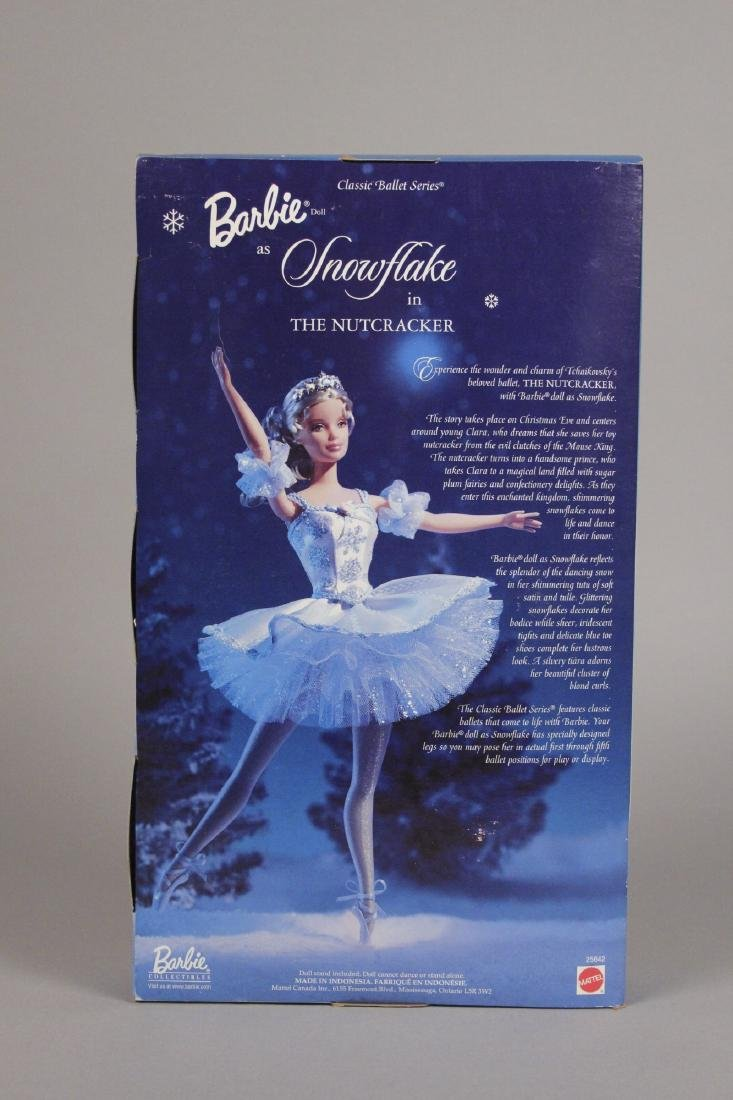 Victorian Ice Skater, Snowflake & Snow Barbie - 4
