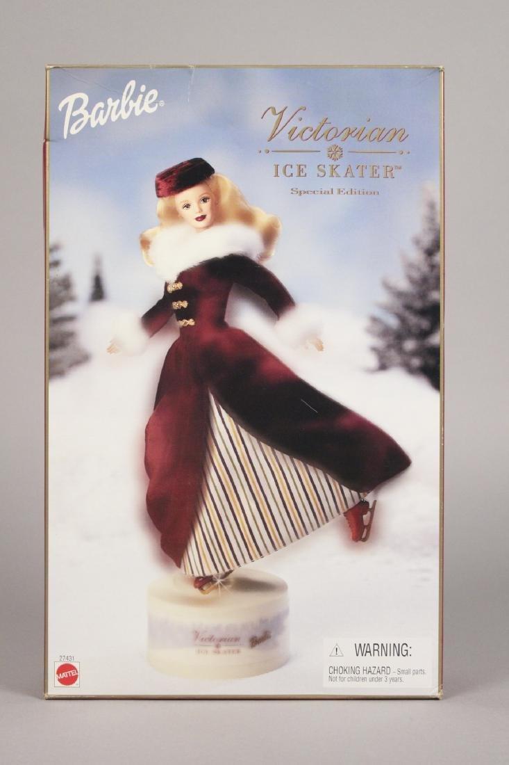 Victorian Ice Skater, Snowflake & Snow Barbie - 8