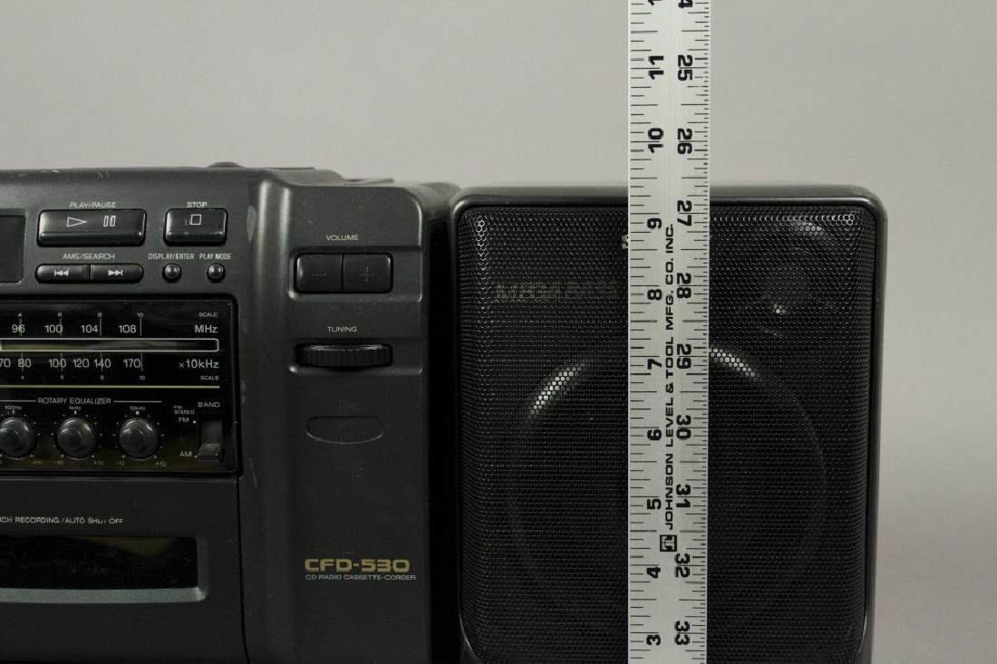 Sony CFD - 530 Portable - CD - Cassette Stereo - 9