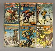 1940s Tom Mix Comics Ralston Purina Co.