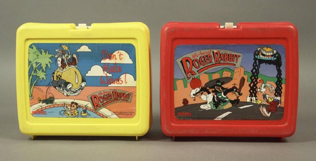 """Vintage """"Who Framed Roger Rabbit"""" Lunch Boxes"""