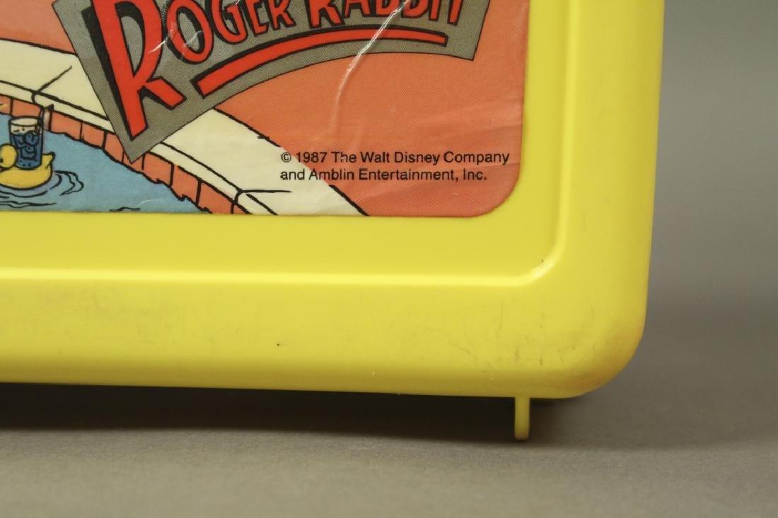 """Vintage """"Who Framed Roger Rabbit"""" Lunch Boxes - 2"""