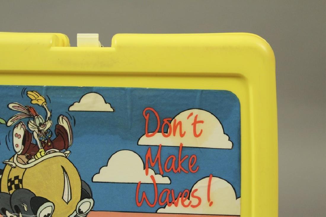 """Vintage """"Who Framed Roger Rabbit"""" Lunch Boxes - 5"""