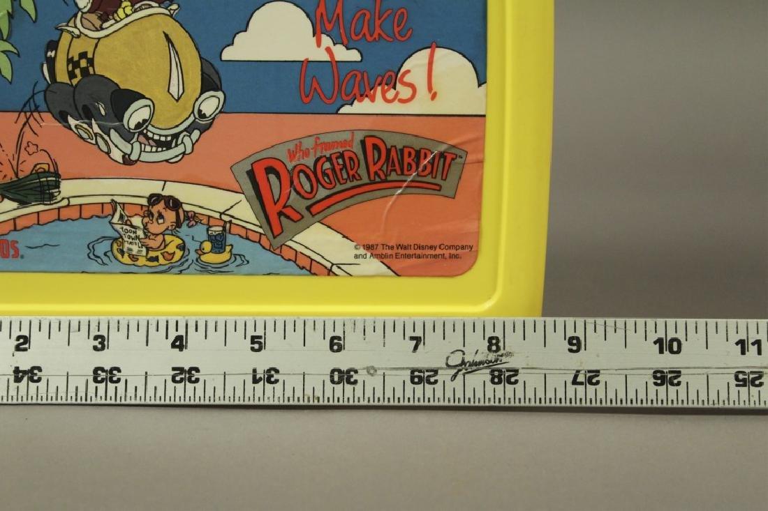 """Vintage """"Who Framed Roger Rabbit"""" Lunch Boxes - 6"""