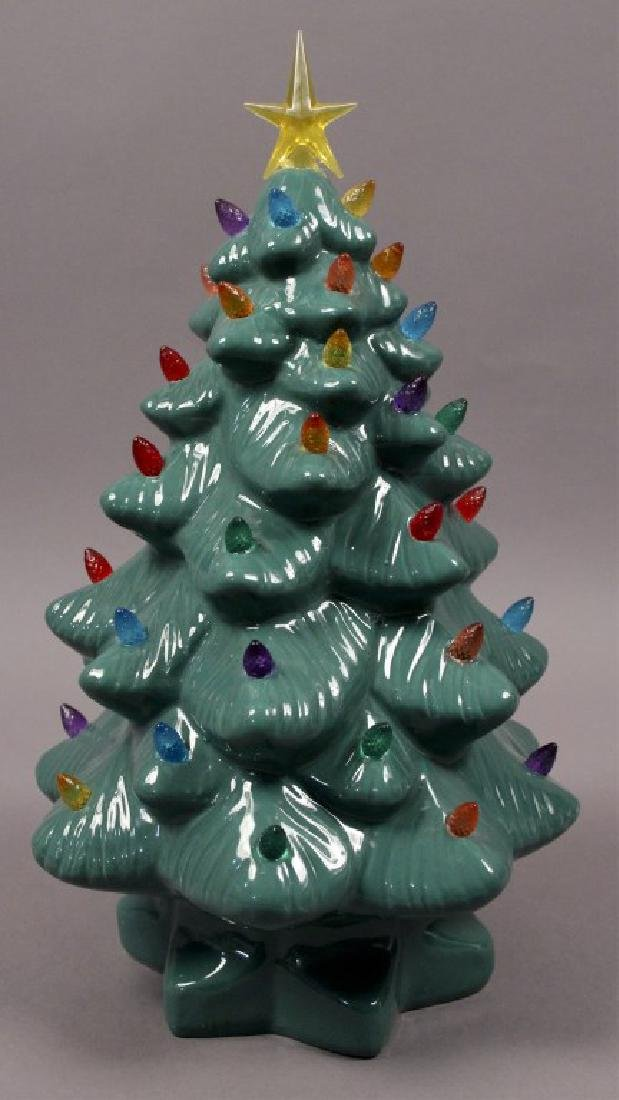 Ceramic Light Up Christmas Tree