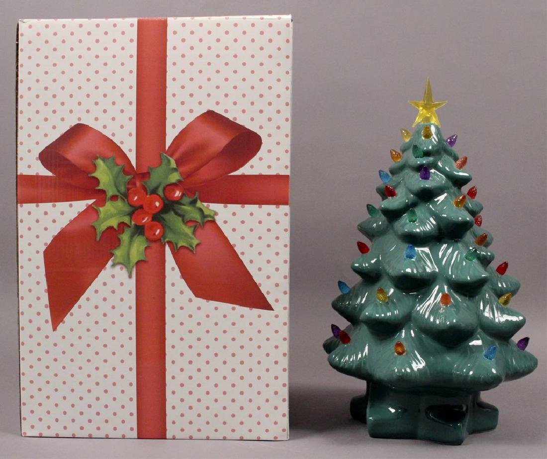 Ceramic Light Up Christmas Tree - 2