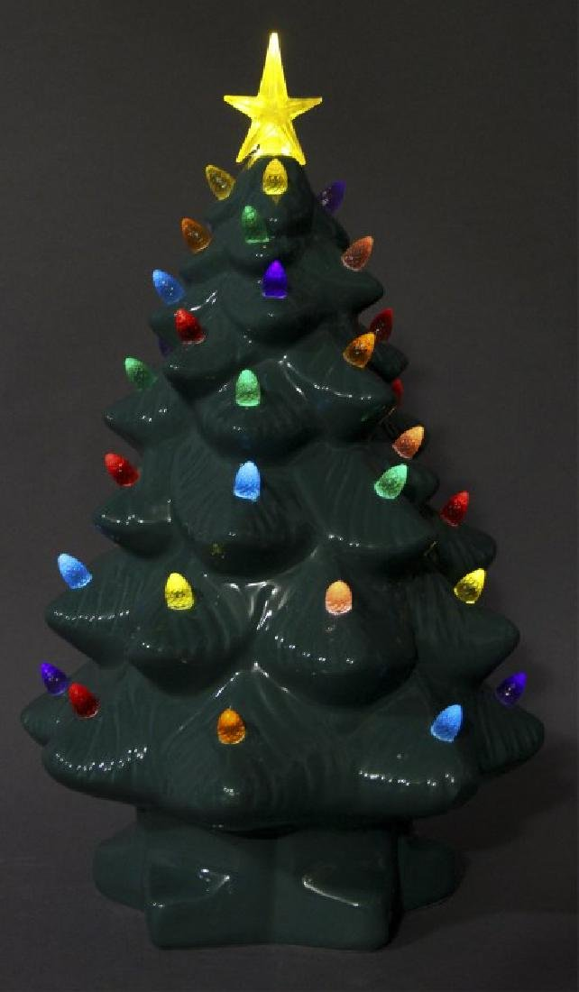 Ceramic Light Up Christmas Tree - 3