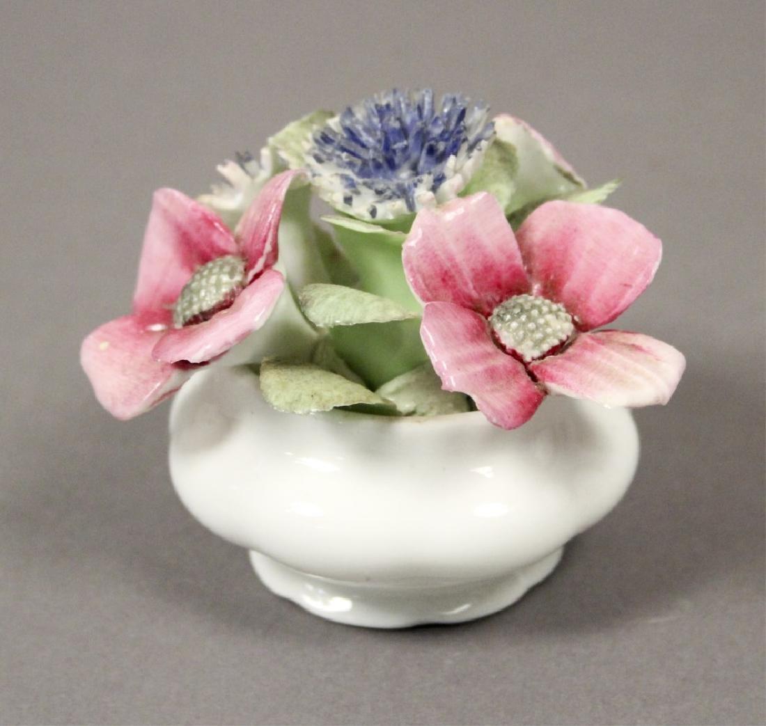 Royal Albert August Poppy Tea Cup & Figurine - 3