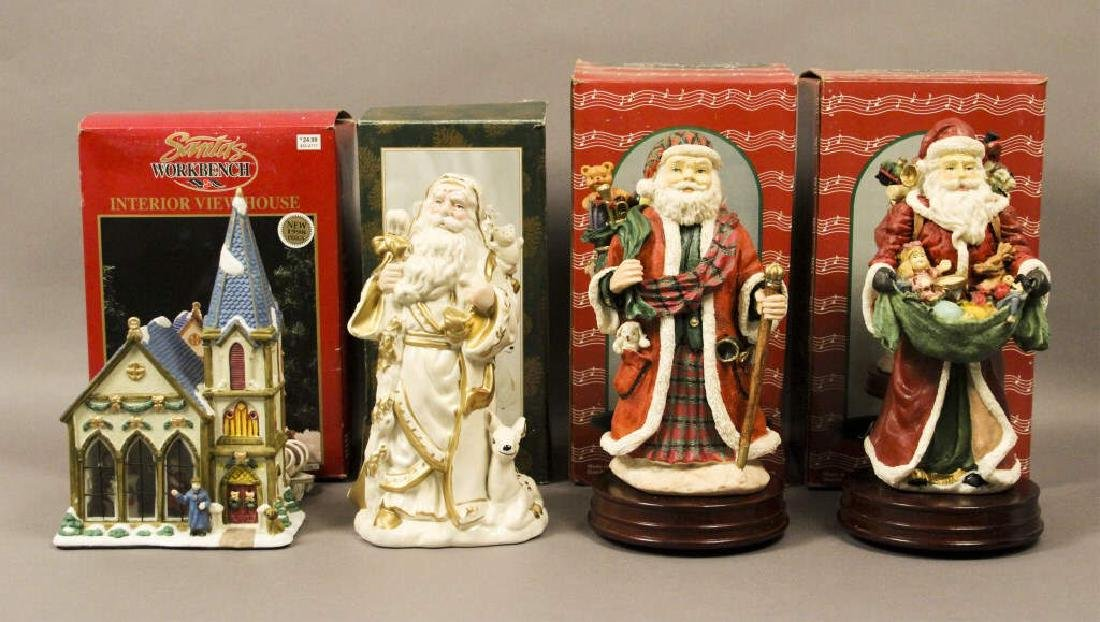 Santa Clause Holiday Collectibles