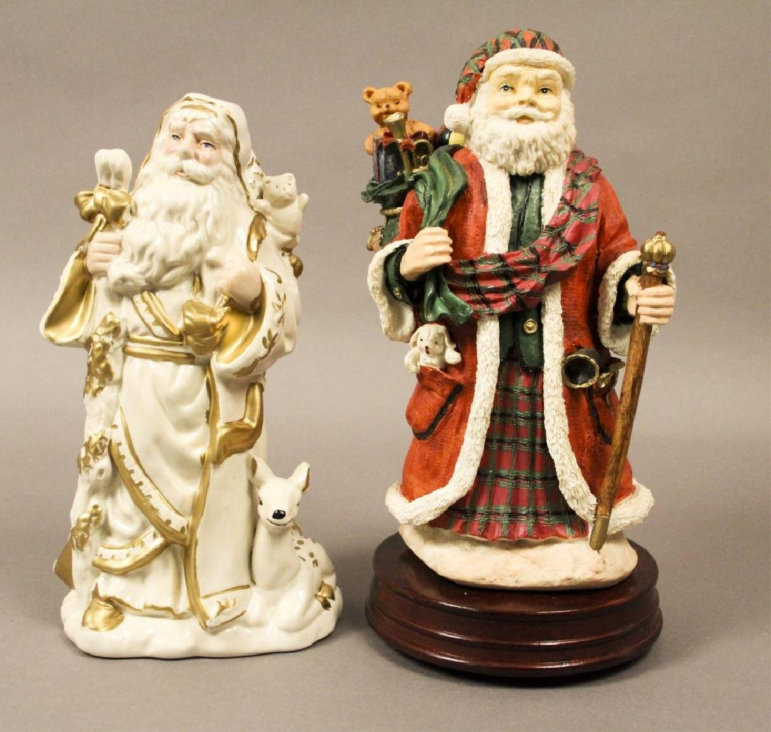Santa Clause Holiday Collectibles - 2