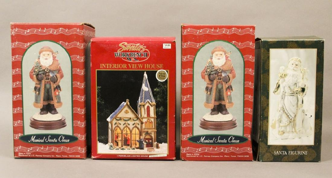 Santa Clause Holiday Collectibles - 7