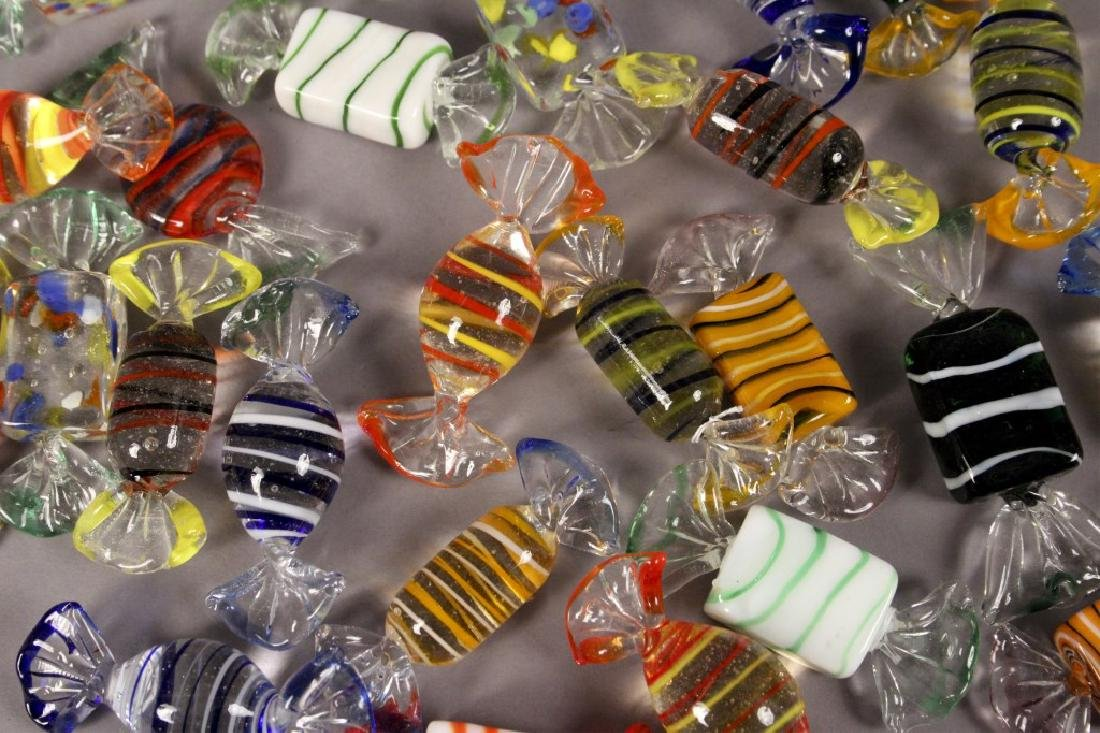 Murano Style Glass Candy Decorations - 2