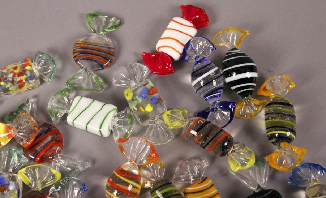 Murano Style Glass Candy Decorations - 3