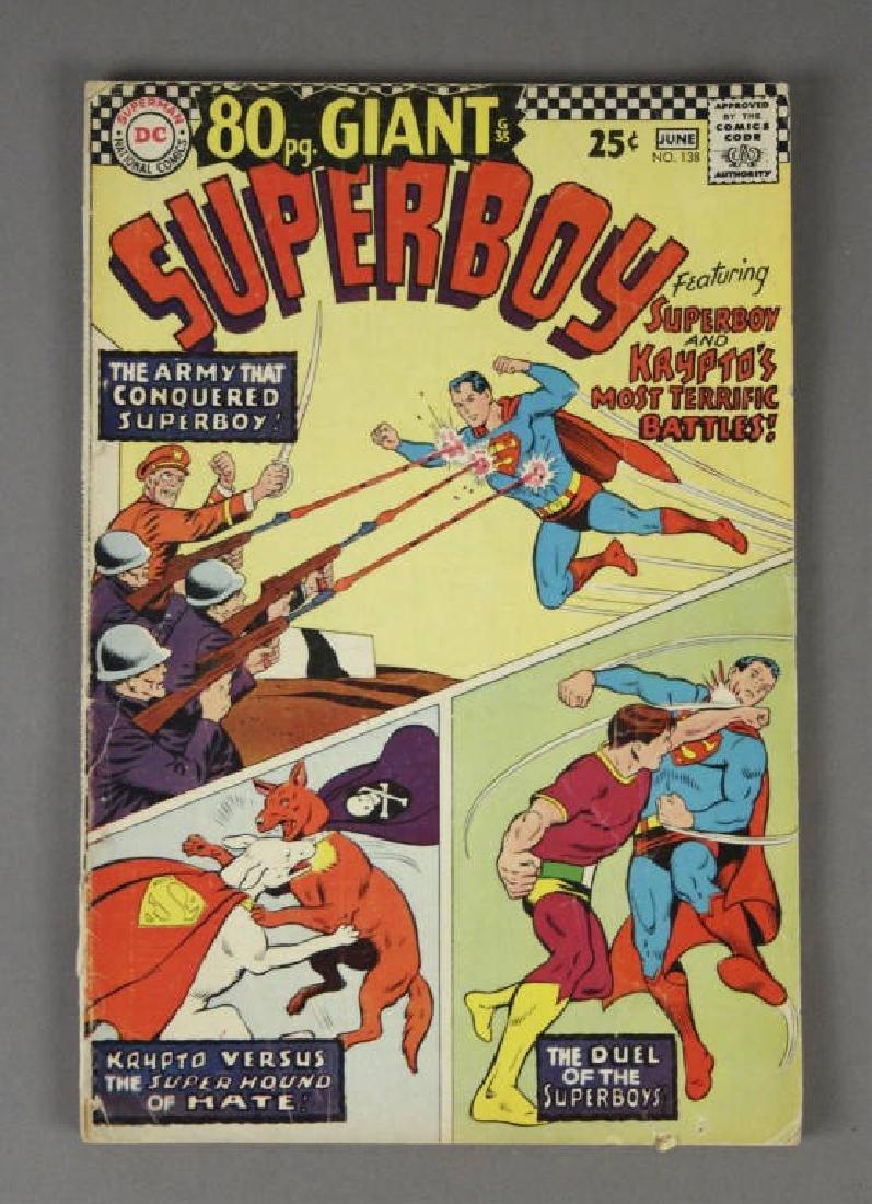 1967 DC Comics Superboy No. 138