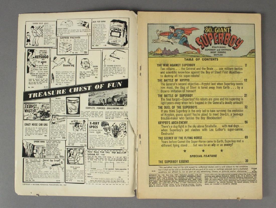 1967 DC Comics Superboy No. 138 - 3