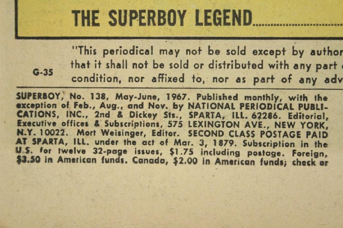 1967 DC Comics Superboy No. 138 - 5