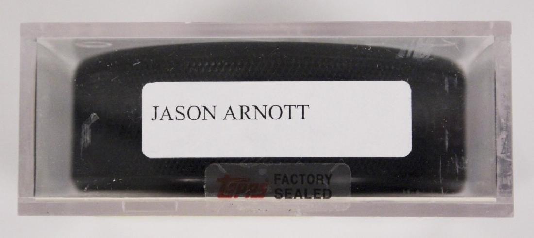 NHL Jason Arnott Autographed Hockey Puck - 2