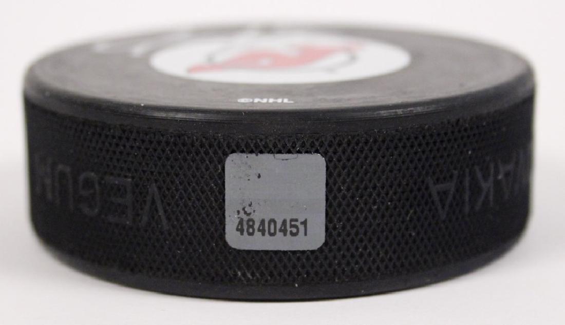 NHL Jason Arnott Autographed Hockey Puck - 4