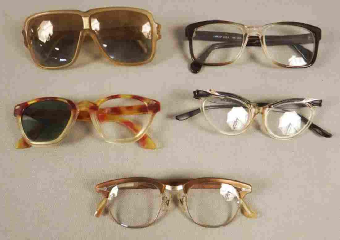 5 Pairs of Vintage Eyeglasses - Unique!