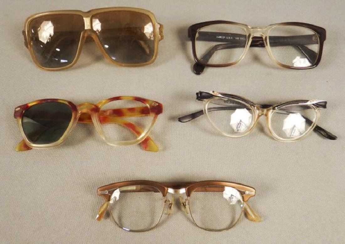 5 Pairs of Vintage Eyeglasses - Unique!