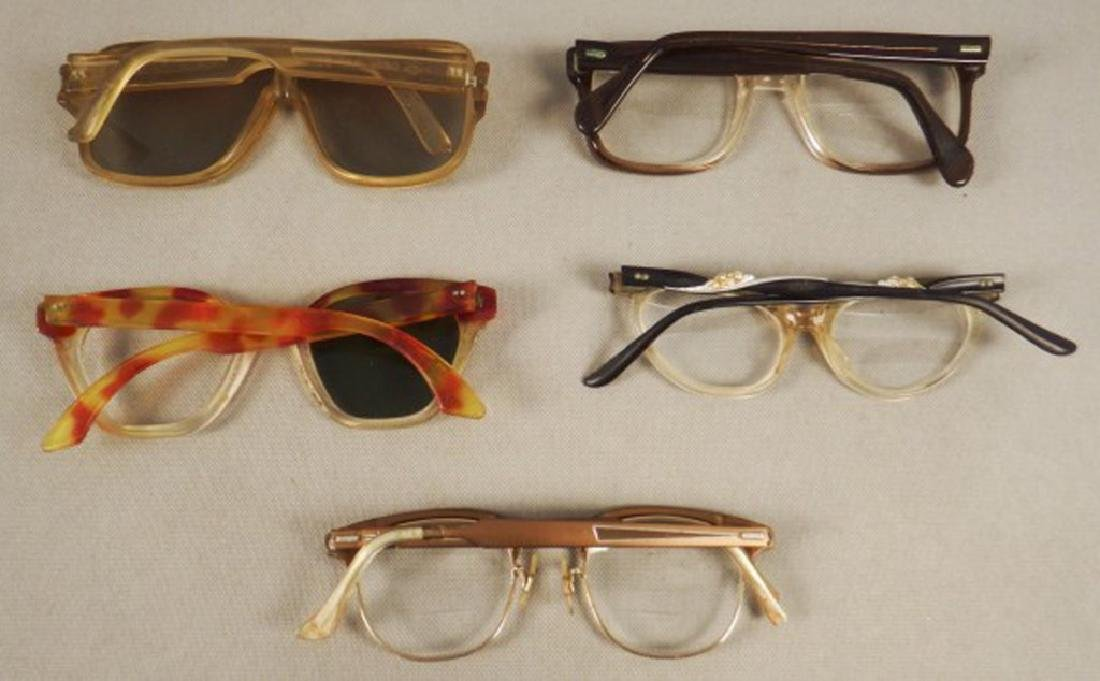 5 Pairs of Vintage Eyeglasses - Unique! - 2