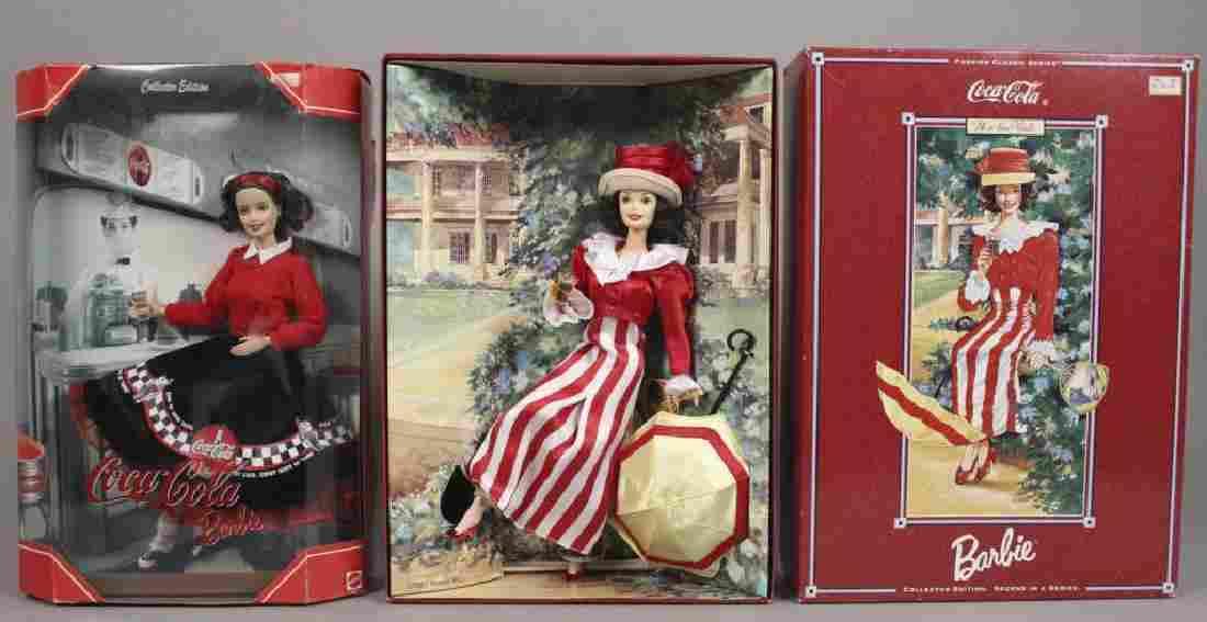 1997 & 1999 Coca-Cola Barbie Dolls