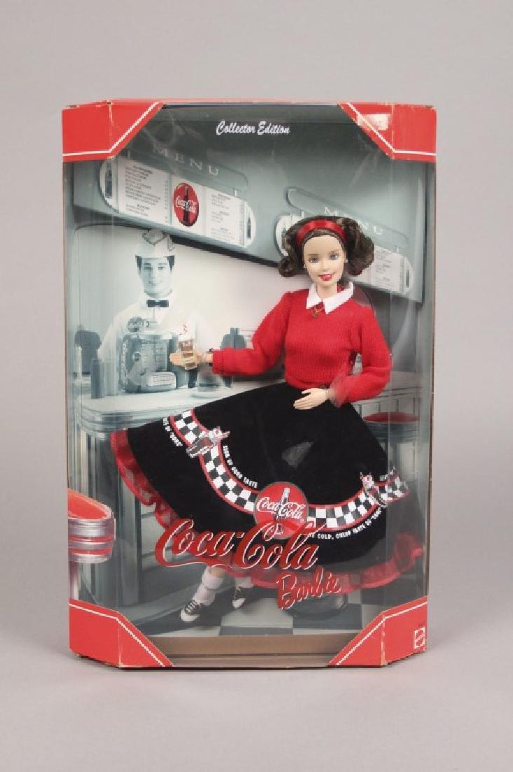 1997 & 1999 Coca-Cola Barbie Dolls - 2