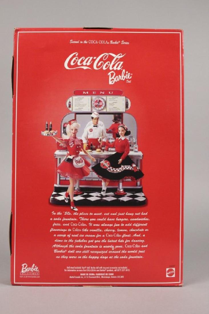1997 & 1999 Coca-Cola Barbie Dolls - 7