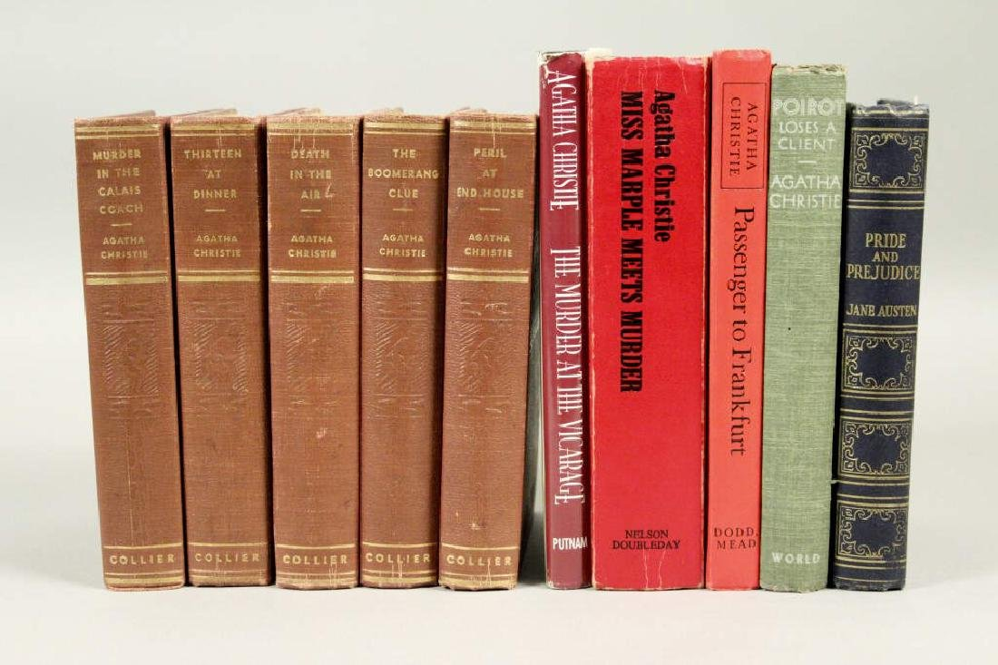 10 Collectible Agatha Christie Books