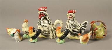 Collectible Vintage Chicken Salt & Pepper Shakers