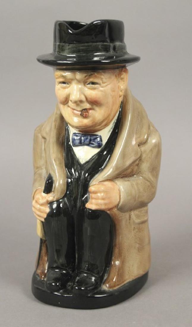 1940 Winston Churchill Royal Doulton Character Mug