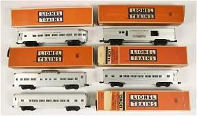 Lionel 2530, 2531, 2532, 2533, 2534 Aluminum Pass