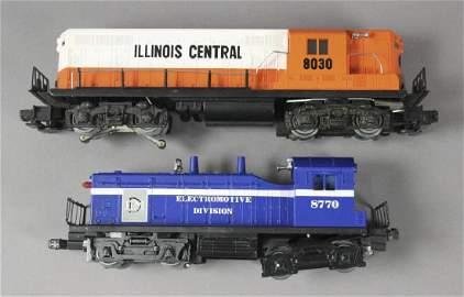 2 Collectible Lionel Locomotives