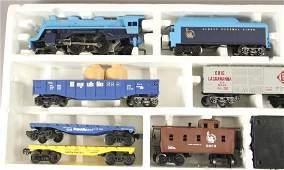 Vintage Lionel Blue Streak Freight Train Set