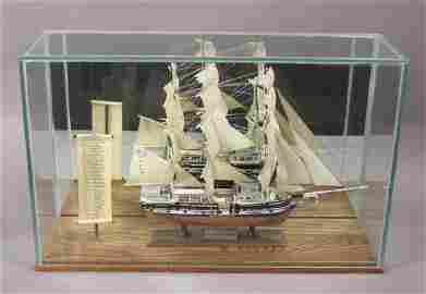 Vintage Scientific Charles W. Morgan Whaler Ship