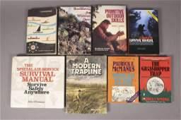 8 Survival Outdoor Collector Books