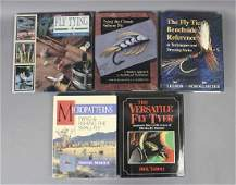 Assorted Fly Tying Information Books
