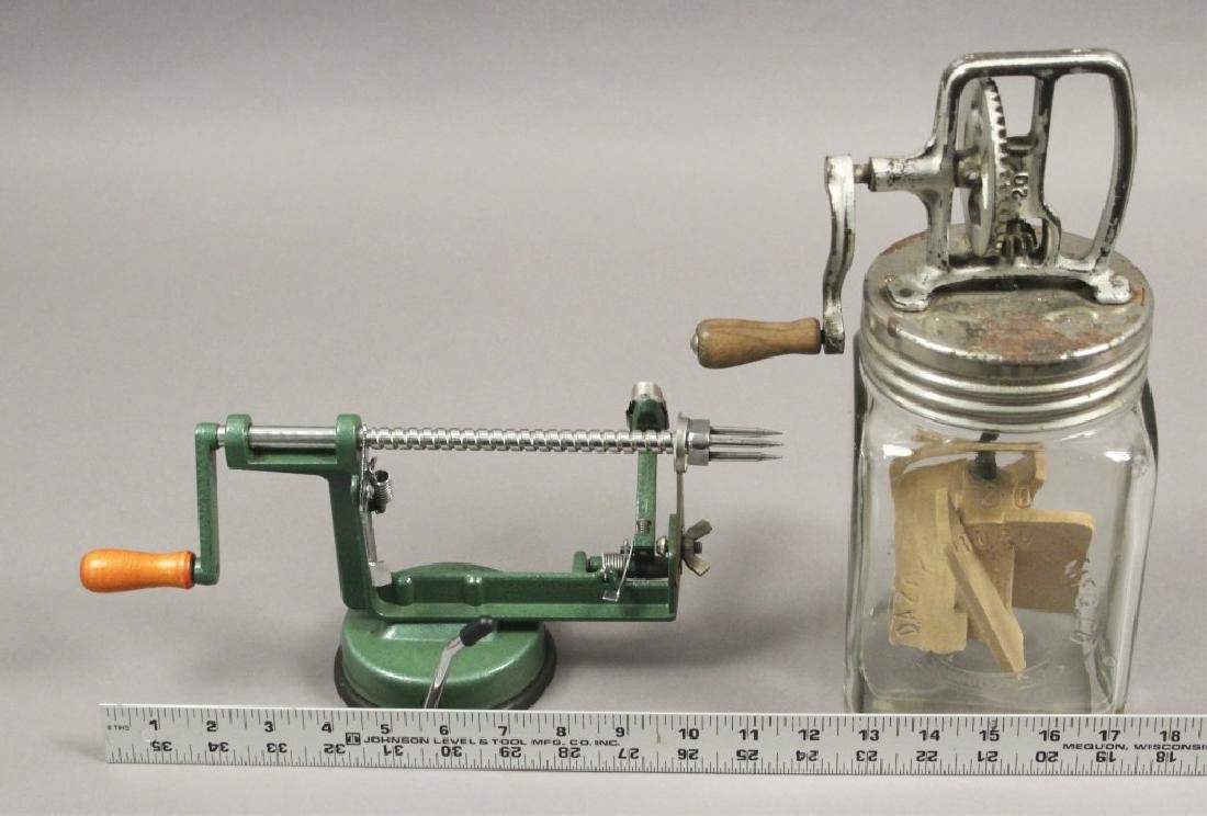 Vintage Kitchen Tools - Peeler - Mixer - Press - 3