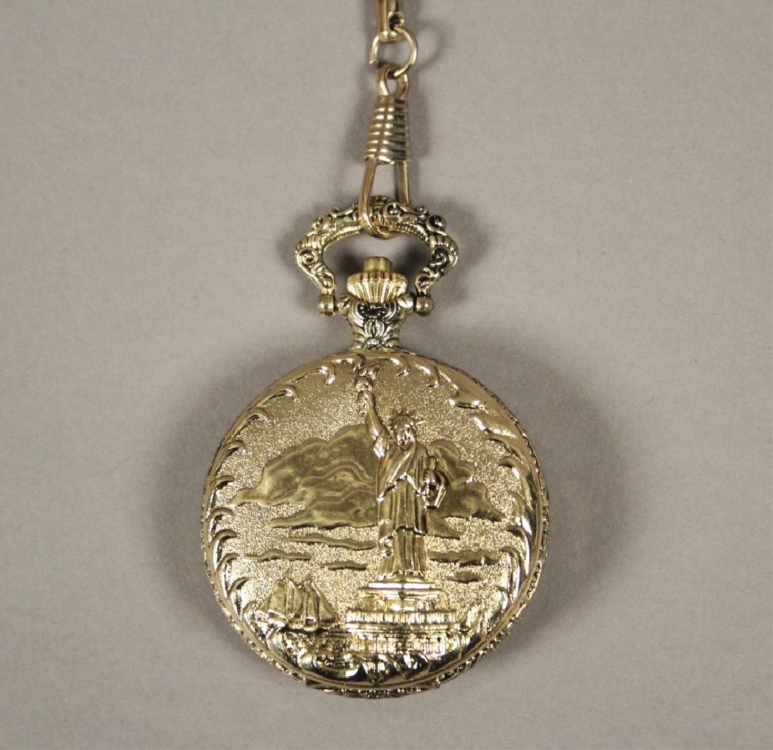 Statue of Liberty Commemorative Pocket Watch - 2